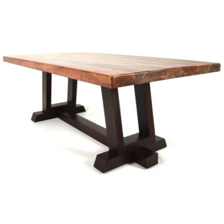 Fulton 84″ Dining Table, Reclaimed Wood