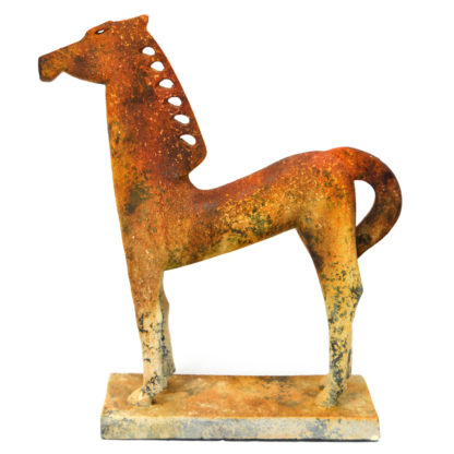 MXG 358 Handcrafted Horse Sculpture 25″ Tall