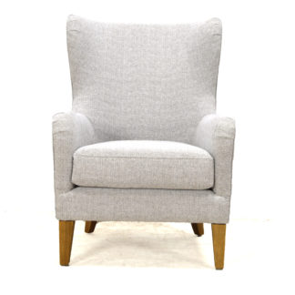 Ainsley Upholstered Club Chair, Boden Maple