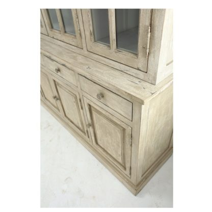 Grand 84″ Handcrafted Hutch And Buffet